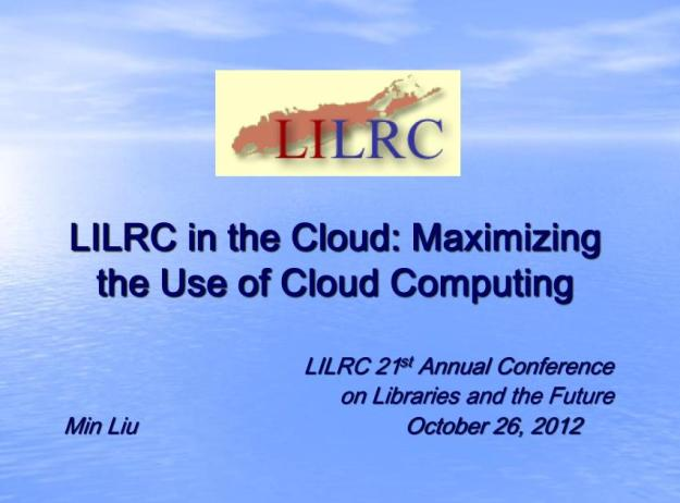 LILRC in the Cloud