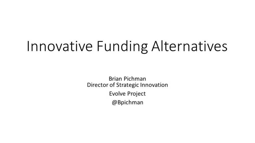 LILRC_Innovative Funding Alternatives