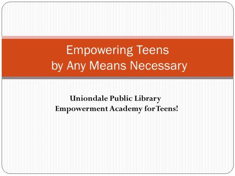 Empowering Teens